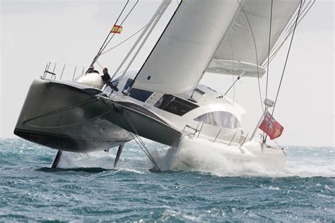 catamaran boat facts how often you see catamaran flying a hull cruisers
