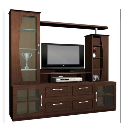 wall unit furniture nilkamal clinton walnut wall unit by nilkamal online