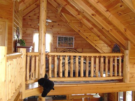 small log cabins with lofts log cabin with loft bedroom