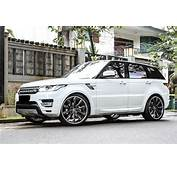 Range Rover Sport Forgiato White 3