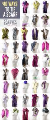 Different Ways To Tie An Infinity Scarf It S Written On The Wall Tips And Tricks Including A