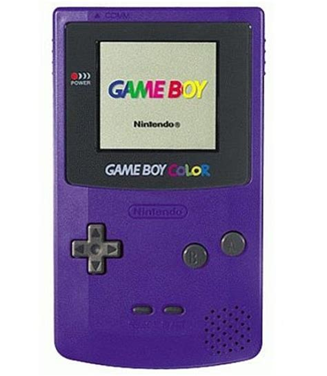 gameboy color purple grape boy color system in great condition