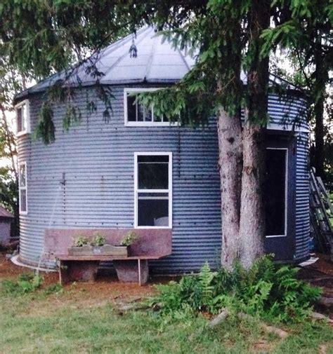 300 sq ft house 300 sq ft tiny grain silo cabin