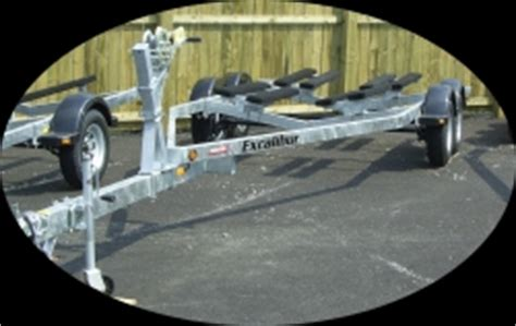boat trailer axles canada boat trailers excalibur pontoon pwc watercraft