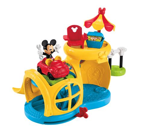 mickey mouse clubhouse work bench mickey mouse clubhouse fix n fun garage by fisher price