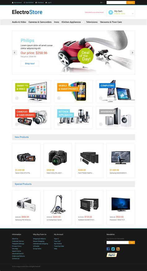 magento themes electronics store electronics store responsive magento theme 48515