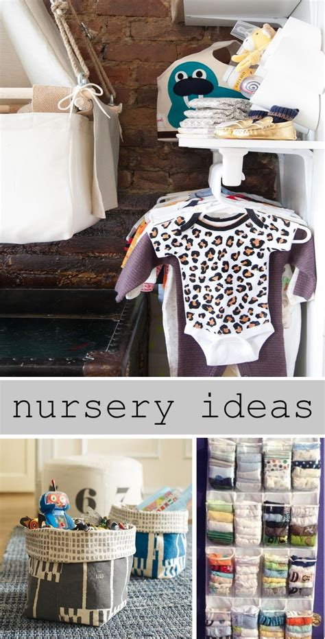 how to organize a baby room