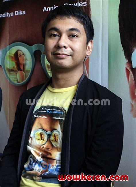 penayangan film single raditya dika foto raditya dika hadiri konferensi pers film single