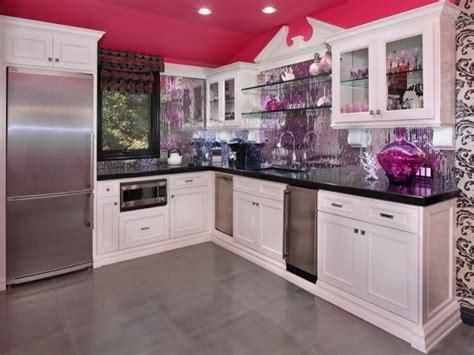 Pink Kitchen Designs, Decorating Ideas, Photos