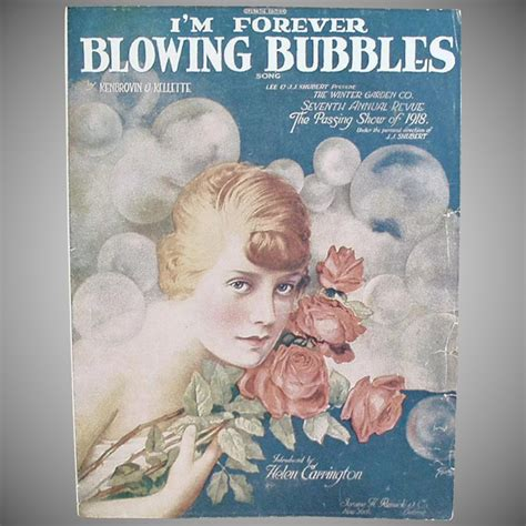 Im Forever Blowing Bubbles by I M Forever Blowing Bubbles Sheet Ogee S