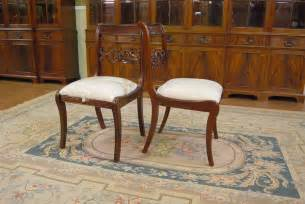 Duncan Phyfe Lyre Back Dining Chairs Empire Duncan Phyfe Dining Room Chairs