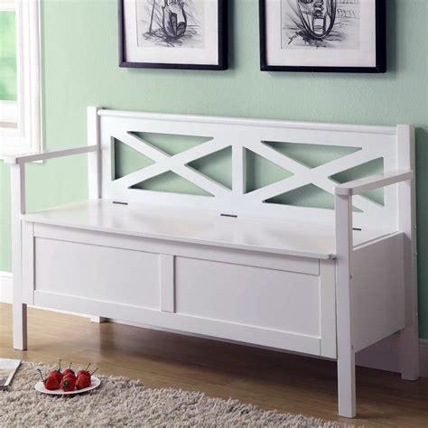 small white bench small white storage bench home design ideas