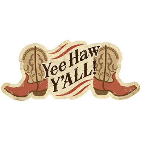 Yee Haw by Yee Haw Y All Magnet Furrypartners