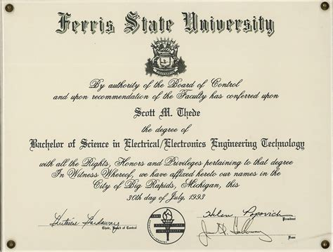 degrees portfolio  scott  thede
