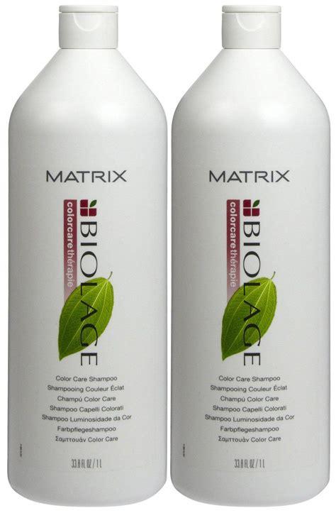biolage color care biolage by matrix color care shoo and conditioner