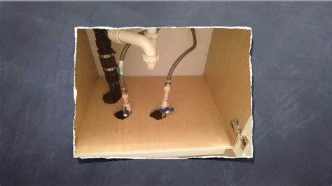 installing water shut valve sink kitchen sink shut valve sharkbite installation