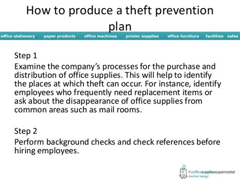 a room how to stop thieves how to prevent office theft