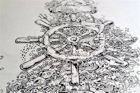 thrones coloring book philippines doodles illustrations 2013 on behance