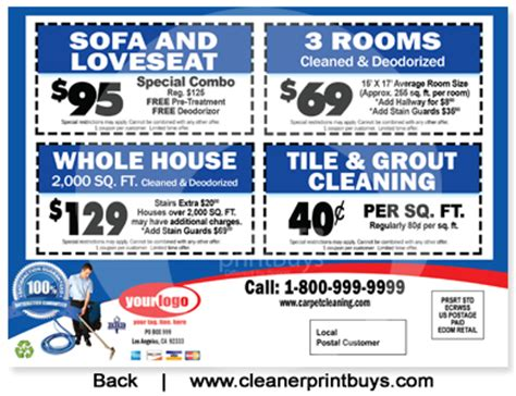 the rug house discount code carpet cleaning eddm postcard 6 5 x 9 c0006 100lb cover