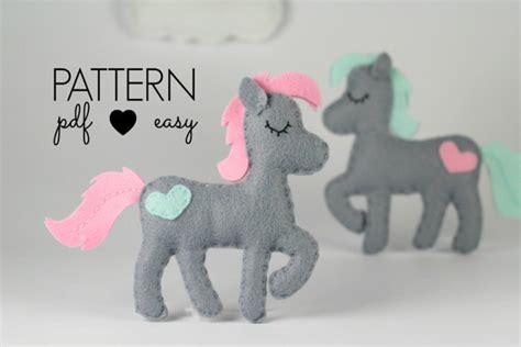 felt horse pattern free felt pattern horse sewing pattern felt horse pattern
