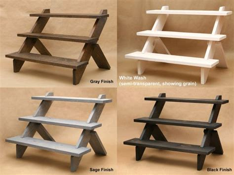 wooden table top display shelves best 25 display shelves ideas on small