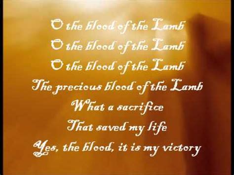 The Blood That Jesus Shed For Me Chords by Jesus Paid It All With Lyrics Lyrics