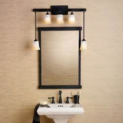 can you use track lighting bathroom