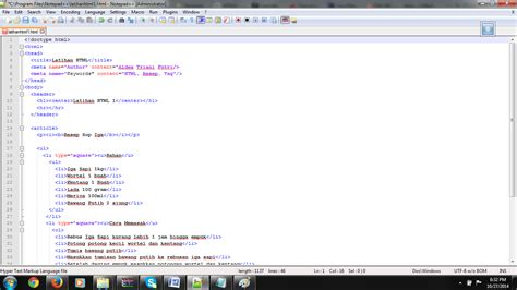 cara membuat website html5 membuat halaman web dengan menggunakan html5 css3 dan