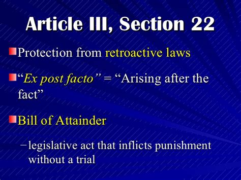 article 3 bill of rights section 16 explanation related keywords suggestions for section 22