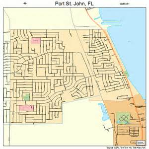 port st florida map 1258700