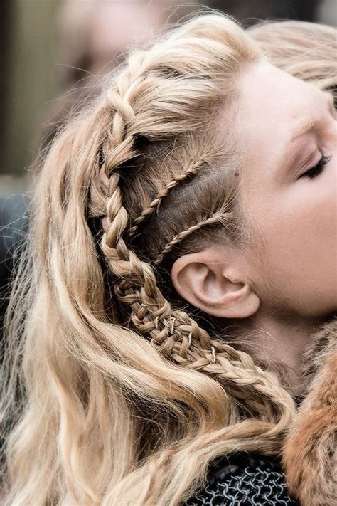 lagertha lothbrok hair braided www ddgdaily com cool stuff pinterest double braid