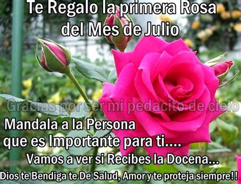 imagenes de rosas con frases feliz inicio de semana im 225 genes de fel 237 z mes de julio para whatsapp fraseshoy org