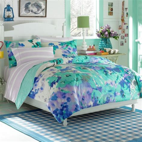 Light Blue Teen Bedding Set Http Makerland Org Choosing The Cool Beds For Teens