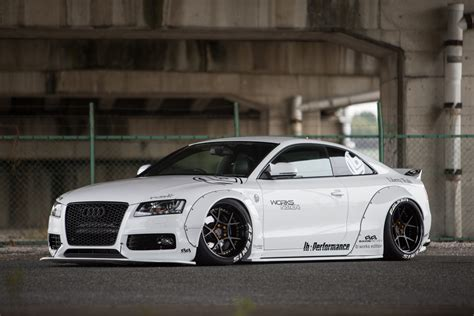 widebody cars liberty walk audi a5 project is blessed by the widebody