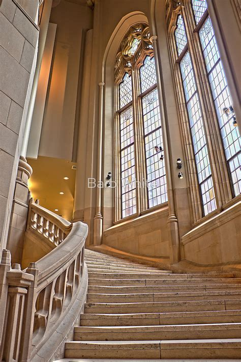 library staircase quot the grand staircase in the suzzallo library quot by barb white redbubble