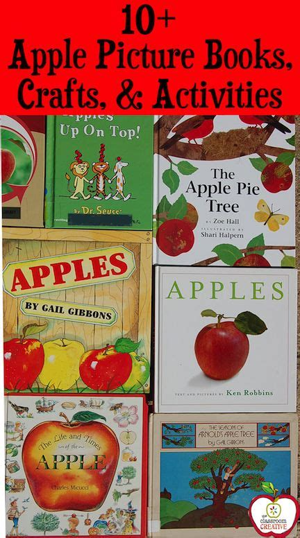 photo book themes apple 29 best images about apple unit ideas on pinterest for
