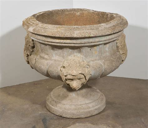 Concrete Urn Planter by 20th Century Italian Concrete Urn At 1stdibs