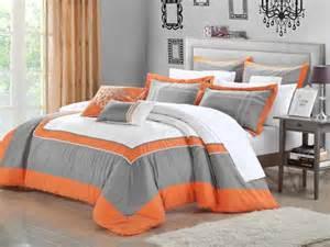 Orange Comforter Sets Comforter Set Queen Size Orange Youtube