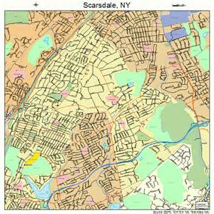 Scarsdale New York Map by Scarsdale New York Street Map 3665431