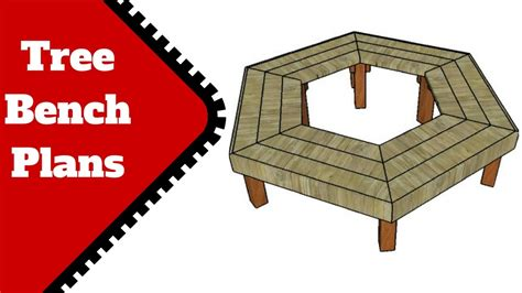 tree bench plans free tree bench plans youtube