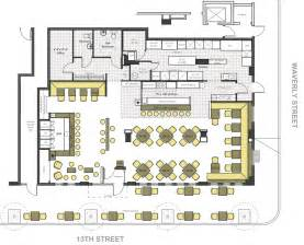 Restaurant Floor Plan Designer fire restaurant amp bar ralph tullie archinect