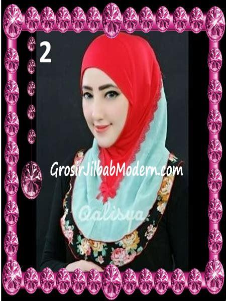 Jilbab Instan Qalisya jilbab syria kombinasi cantik ahza by qalisya no 2 grosir jilbab modern jilbab cantik jilbab