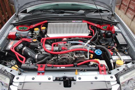 subaru xt engine forester xt engine bay
