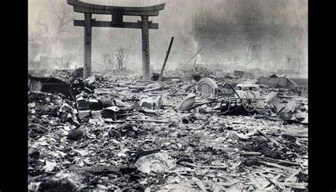 imagenes de hiroshima japon hiroshima despu 233 s de la bomba at 243 mica en fotos nunca antes