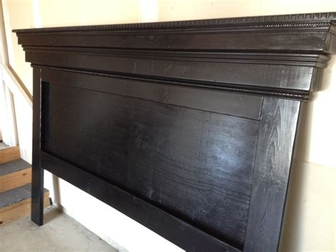 mantel headboard ana white moulding mantel headboard variation diy projects