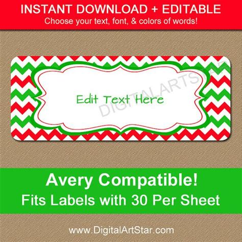 printable christmas mailing labels 26 best images about return address labels on pinterest
