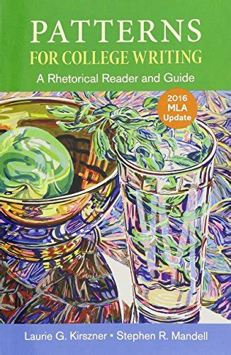 pattern for college writing 13th edition results for stephen r mandell
