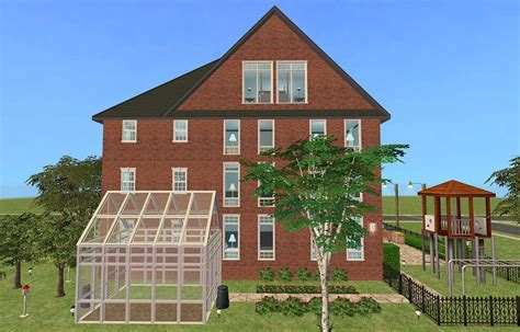 colonial appartments mod the sims colonial apartment house ii