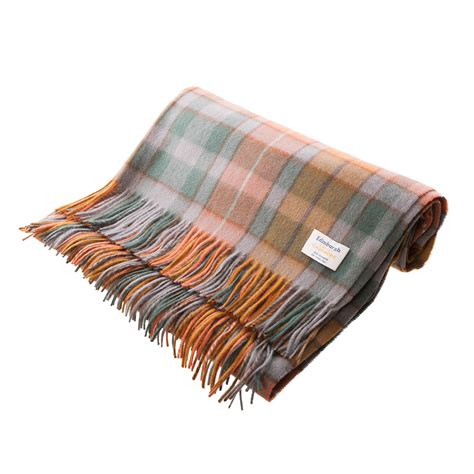 Rug Blanket by Edinburgh 100 Scottish Tartan Rug Blanket Ebay