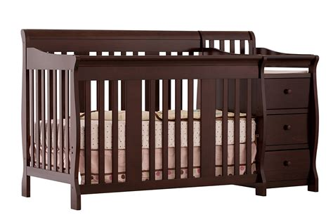 4 in 1 baby cribs storkcraft baby portofino 4 in 1 convertible crib